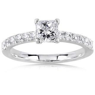 Annello by Kobelli 14k Gold 3/4ct TDW Diamond Engagement Ring