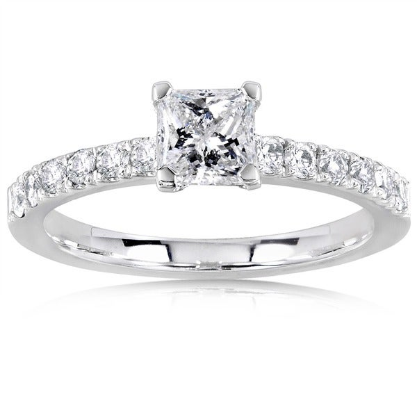 Annello by Kobelli 14k Gold 3/4ct TDW Diamond Engagement Ring (H-I, I1-I2)
