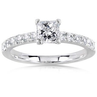 Annello by Kobelli 14k Gold 3/4ct TDW Diamond Engagement Ring