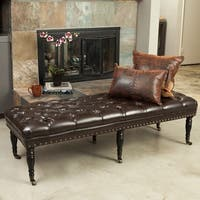 Shop Furniture Of America Espresso Flip Top Bicast Leather