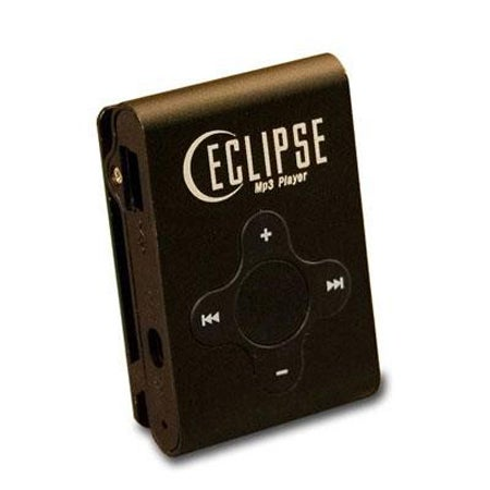 Mach Speed Eclipse CL4BK Flash MP3 Player - 4 GB Flash Memory - Black