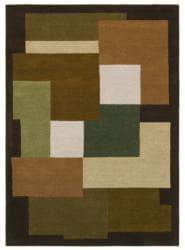 Hand-tufted Geometric Multi Wool Rug (8' x 11')