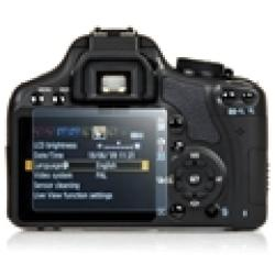 INSTEN Canon EOS 500D T1i Reusable Clear Camera LCD Screen Protector