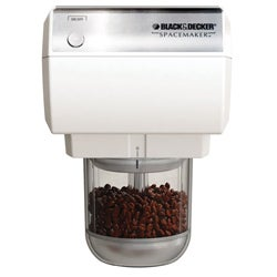 Black & Decker CG800 White Spacemaker Mini Food Processor and Coffee Grinder