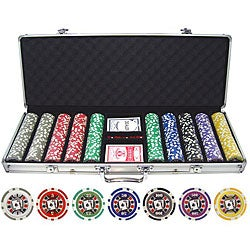 Big Slick 500-piece Poker Chip Set