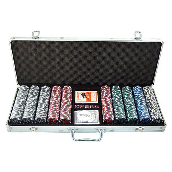 Pro Poker 500-piece Clay Poker Chips