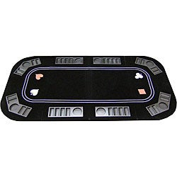Poker, Craps and Roulette 3-in-1 Folding Table Top