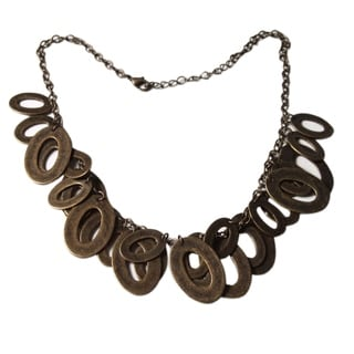 Handmade 'Bronze Princess' Necklace (Peru)