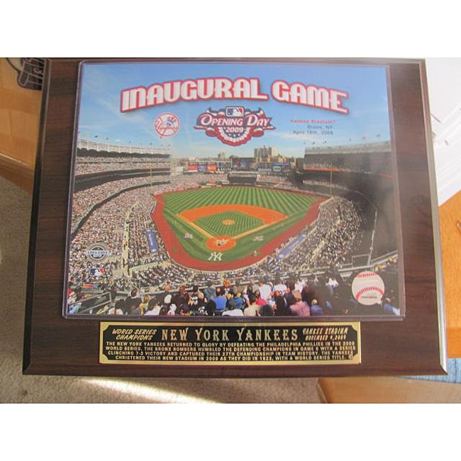 Yankees Stadium Inaugural Collectible Plaque - Thumbnail 0