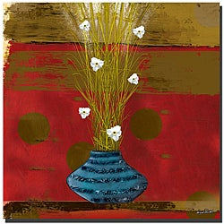 Miguel Paredes 'Red Dawn II' Canvas Art
