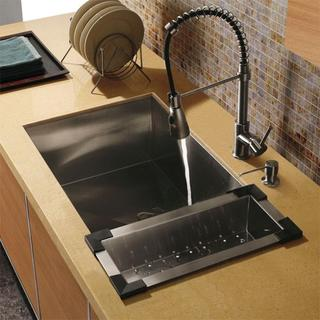 pictures of kitchen sinks vigo undermount stainless steel kitchen sink set 4218