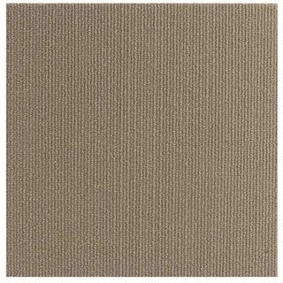 Beige Self-stick Square-foot Carpet Tiles (Case of 480)