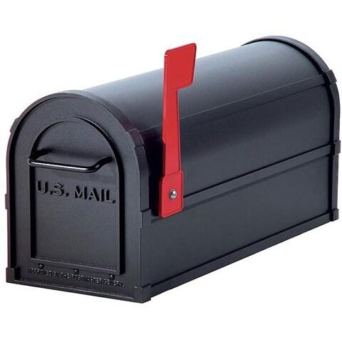 Salsbury Black 4800 Heavy-duty Rural Mailbox