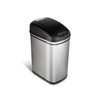 Nine Stars 7.9-gallon Stainless Steel Motion Sensor Trashcan