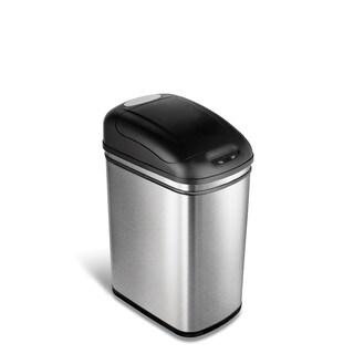 Nine Stars 7.9-gallon Stainless Steel Motion Sensor Trashcan|https://ak1.ostkcdn.com/images/products/4791171/P12689320.jpg?_ostk_perf_=percv&impolicy=medium
