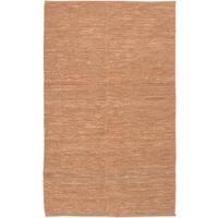 Hand-woven Chapra Bleached Natural Fiber Jute Area Rug - 8' X 11'
