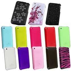 INSTEN Snap-on Plastic Anti-scratch Protective Phone Case Cover for Apple iPhone 3G/ 3GS - Thumbnail 1