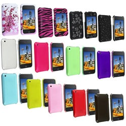 INSTEN Snap-on Plastic Anti-scratch Protective Phone Case Cover for Apple iPhone 3G/ 3GS - Thumbnail 0