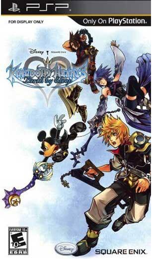 PSP - Kingdom Hearts: Birth by Sleep - By Square Enix