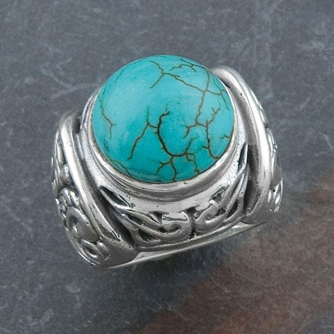 Sterling Silver Turquoise Ring (Thailand)