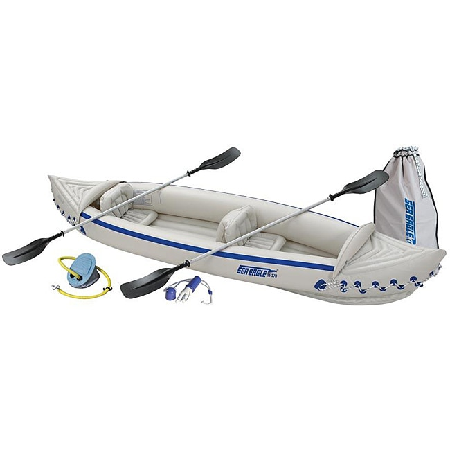 SE370 Deluxe Inflatable Kayak