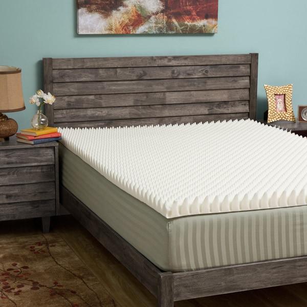 Slumber Solutions Highloft Eco 2-inch Memory Foam Mattress Topper