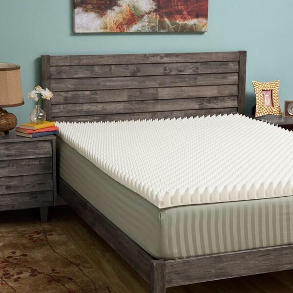 Slumber Solutions Highloft Eco 3-inch Memory Foam Mattress Topper