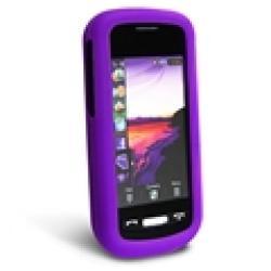 Purple Silicone Case for Samsung Solstice A887