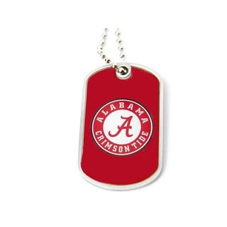 Alabama Crimson Tide Dog Tag Necklace