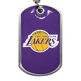 Los Angeles Lakers Dog Tag Necklace