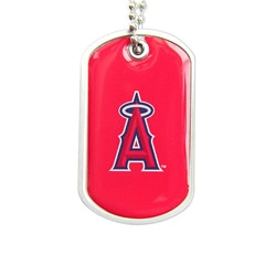 LA Angels of Anaheim Dog Tag Necklace