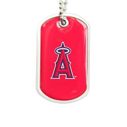 LA Angels of Anaheim Dog Tag Necklace|https://ak1.ostkcdn.com/images/products/4797318/LA-Angels-of-Anaheim-Dog-Tag-Necklace-P12694229a.jpg?impolicy=medium