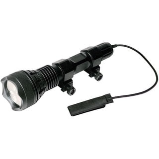 ATN Javelin J600W Black Aluminum 600-lumen Weaver-mount LED Flashlight