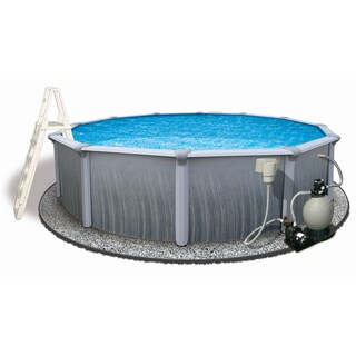Martinique Round Above-ground Pool (2 options available)