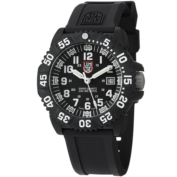 Luminox Navy Seal ColorMark Black and White Watch
