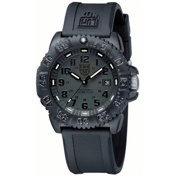 Luminox Men's Navy Seal BlackOut Watch