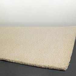 Artist's Loom Hand-woven Contemporary Solid Wool Rug (2'x3') - Thumbnail 1
