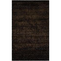 Artist's Loom Hand-woven Shag Rug (8' x 10') - Thumbnail 0