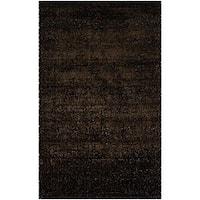 Artist's Loom Hand-woven Shag Rug (8' x 10') - 8' x 10'