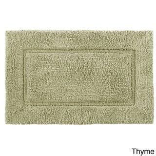 Cotton Hand-woven Premier Large 24 x 40 Bath Mat - 24 x 40 (Option: Thyme)