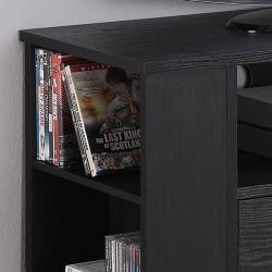 Black Wood TV Stand / Gaming Console - Thumbnail 2