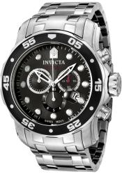 Invicta Men's Pro Diver Chronograph Watch - Thumbnail 2