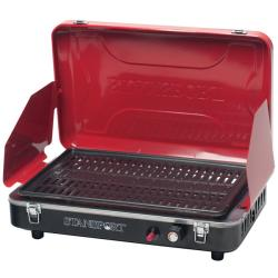 Stansport Red Propane Grill Stove with Piezo Ignition