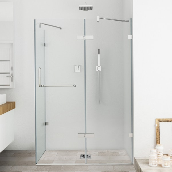 Vigo Frameless Clear Shower Enclosure 32 X 48