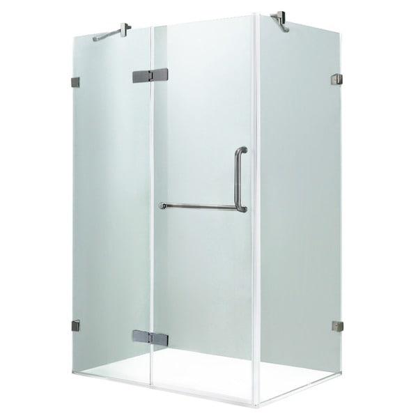 VIGO Frameless Clear Shower Enclosure (32 X 48)   32 X 48   Free Shipping  Today   Overstock.com   12697767