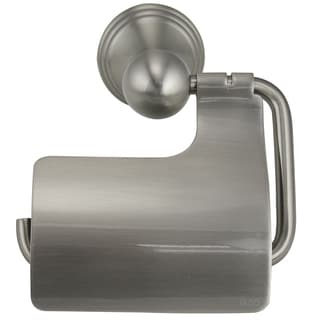Jado Classic Brushed Nickel Finish Hooded Tissue Holder