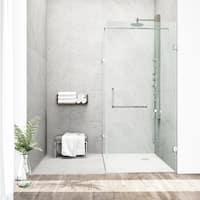 VIGO Frameless Clear Shower Enclosure (36 x 48)