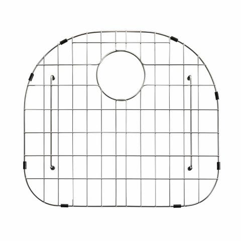 KRAUS Stainless Steel Bottom Grid with Protective Anti-Scratch Bumpers