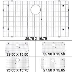 KRAUS Stainless Steel Bottom Grid with Protective Anti-Scratch Bumpers|https://ak1.ostkcdn.com/images/products/4804158/Kraus-Kitchen-Accessories-Chrome-Plated-Steel-Sink-Bottom-Grid-P12700263.jpg?impolicy=medium