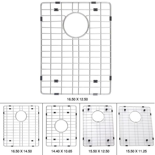 Kraus Kitchen Accessory Durable Steel Sink Bottom Grid